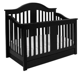 Million Dollar Baby Classic Cameron 4 in 1 Convertible Crib, Espresso : Baby