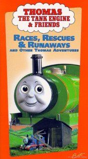 Thomas The Tank Engine and Friends   Races, Rescues & Runaways [VHS] Michael Angelis, Michael Brandon, Ben Small, Keith Wickham, Kerry Shale, Martin Sherman, Matt Wilkinson, Alec Baldwin, William Hope, George Carlin, Teresa Gallagher, Ringo Starr, Lin