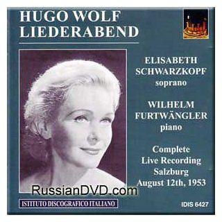 Hugo Wolf   Liederabend   Furtwangler, Schwarzkopf: Music