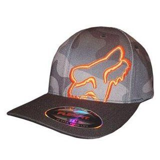 Fox Racing Youth Blamo Flexfit Hat   One size fits most/Black: Automotive