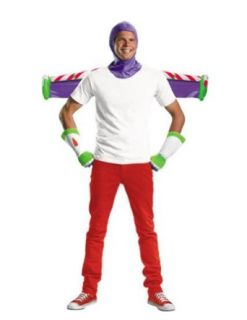 Buzz Lightyear Kit Adult Halloween Costume   Most Adults Adult Sized Costumes Clothing