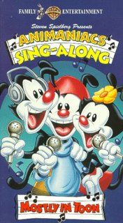 Animaniacs: Mostly in Toon [VHS]: Rob Paulsen, Jess Harnell, Tress MacNeille, Frank Welker, Maurice LaMarche, Sherri Stoner, Jeff Bennett, Nathan Ruegger, John Mariano, Chick Vennera, Jim Cummings, Nancy Cartwright: Movies & TV