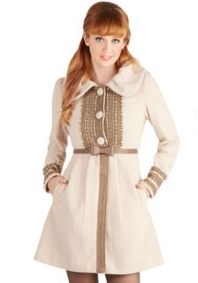 Ryu Oat Couture Coat  Mod Retro Vintage Coats