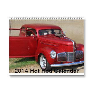 2014 Hot Rod Calendar