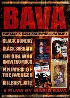 The Mario Bava Collection: Volume One (Black Sunday / Black Sabbath / The Girl Who Knew Too Much / Kill Baby Kill / Knives of the Avenger): Barbara Steele, John Richardson, Andrea Checchi, Ivo Garrani, Arturo Dominici, Enrico Olivieri, Antonio Pierfederici