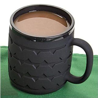 Tire Tread Mug: Kitchen & Dining