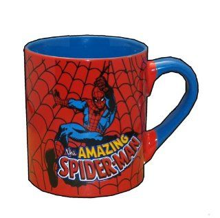 SPIDER MAN Marvel Comics 14 oz Ceramic Coffee MUG  Spiderman Mug