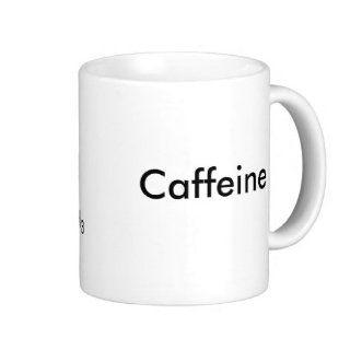 Caffeine Molecule Coffee Mug Kitchen & Dining