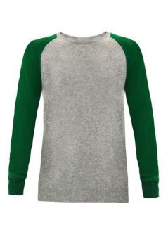Contrast sleeve cashmere sweater  Chinti and Parker  MATCHES