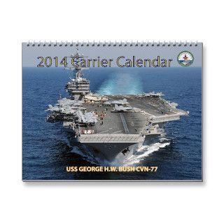 2014 Aircraft Carrier Calendar
