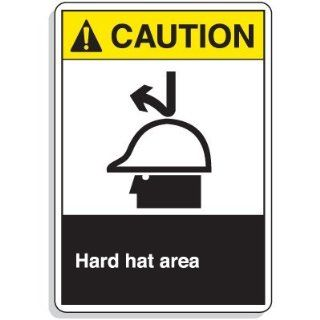 Workplace Safety Signs   Hard hat area: Industrial Warning Signs: Industrial & Scientific