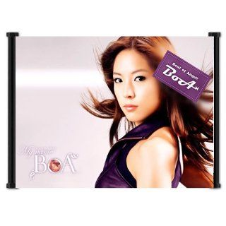 "BOA Sexy Jpop Kpop Singer Fabric Wall Scroll Poster (21""x16"") Inches   Prints"