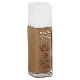 Revlon Nearly Naked Makeup, Nutmeg, 1 oz : Foundation Makeup : Beauty