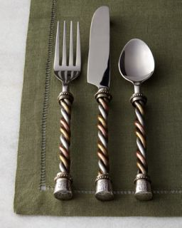 20 Piece Twisted Flatware Service   GG Collection