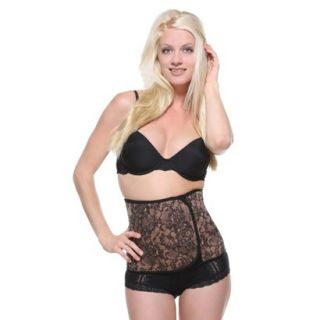 Couture Belly Bandit Black Lace Print XS