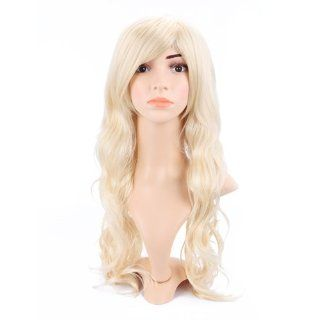 HDE (TM) Long Wavy Blonde Hairstyle Wig Toys & Games