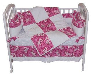 Pink Crush Hawaiian Surf Minky Chenille Baby Crib Bedding Set : Other Products : Everything Else