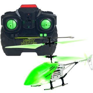 Night Hunter Glow In The Dark RC Helicopter Toys & Games