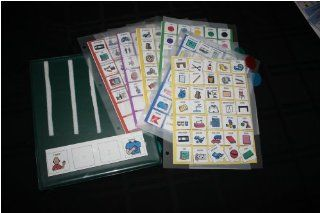 Communication Book/ Autism/ special needs/PECS : Special Needs Educational Supplies : Office Products