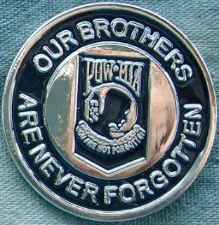 Pin   Our Brothers Are Never Forgotten 60 0477 pow war united states of america 58479 brothers and sisters who never returned Motorcycle Patches Biker Bike motor leather stripe chevron tab badge : Sports Fan Aprons : Sports & Outdoors