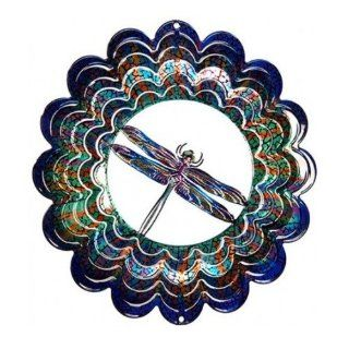 Next Innovations Kaleidoscope Dragonfly Wind Spinner : Patio, Lawn & Garden