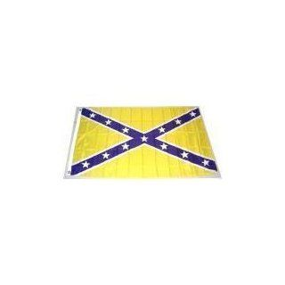 LSU colors    REBEL FLAG     Confederate flag   3x5 ft     Purple and Gold     Louisana State University : Outdoor Flags : Patio, Lawn & Garden