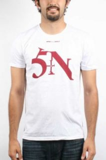 Nine Inch Nails   Sin Mens T Shirt In White: Clothing