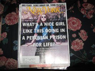 New York Magazine (Lori BerensonPERUVIAN PRISONER FOR LIFE, Girl Next Door REVOLUTIONARY): John H. Richardson: Books