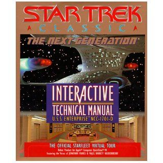 Star Trek Classic: The Next Generation Interactive Technical Manual U.S.S. Enterprise NCC 1701 D: Simon & Schuster Interactive: 9780671317805: Books