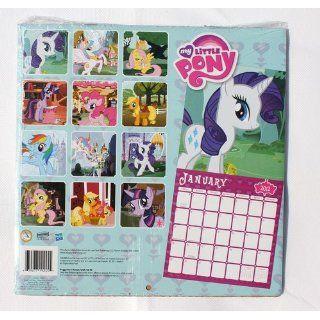 My Little Pony 2012 Wall Calendar  Hasbro School Supplies