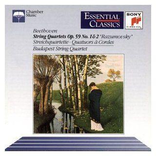 Beethoven String Quartets Op. 59, Nos. 1 & 2 Music