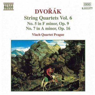 Dvor�k String Quartets Vol. 6 (Nos. 5 & 7) Music