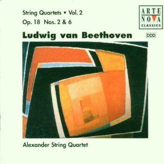 Beethoven Vol. 2 String Quartets, Op. 18, Nos. 2 & 6 Music