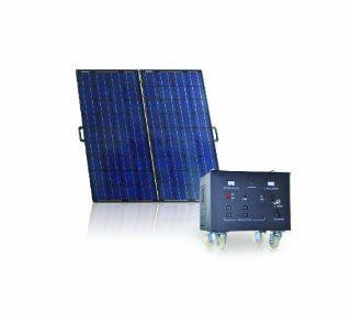 Sainty International GES OFG 600A Off Grid Indoor/Outdoor Solar Power System, 600 Watt  Solar Panels  Patio, Lawn & Garden