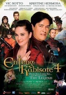 Enteng Kabisote 4   Okay Ka Fairy Ko   Beginning of the Legend (Philippine Movie): Vic Sotto, Kristine Hermosa, Ian Veneracion, Francine Prieto, Carlos Agassi, Michael De Mesa, Tony Y. Reyes: Movies & TV