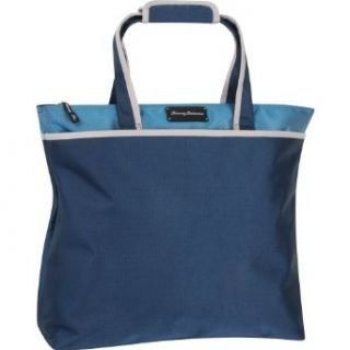 Tommy Bahama Luggage Deep Sea 17 inch Tote Bag, Navy/Blue, One Size: Clothing