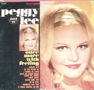 Peggy Lee: Once More with Feeling: Music