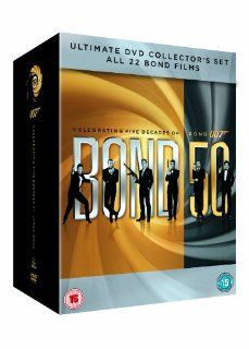 James Bond 50   22 Dvd Collection  Translated in Hebrew (new from factory) Movies & TV