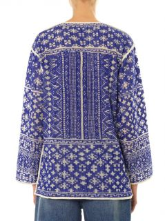 Barber embroidered cotton tunic  Isabel Marant Étoile  MATCH