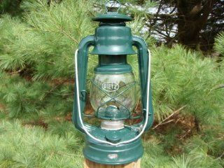 Country Collectible Small Green Barn Lantern As Used in the Amish Buggy Light. Authentic Lanterns That Have Been Utilized for Decades to Light the Way on the Farms in the Amish Community. This Lantern Fits Perfectly Into the Amish Horse Buggy Carriage Lant