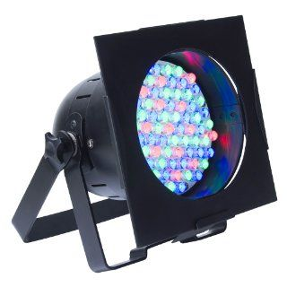 American Dj 38B Black Led Pro Par 38 Led RGB Par Can: Musical Instruments