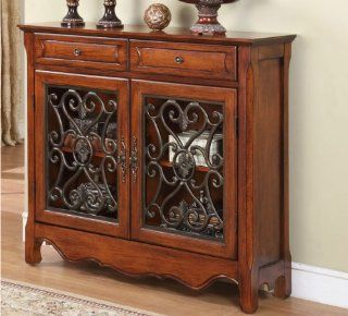 MEXICAN HACIENDA SPANISH COLONIAL REVIVAL FURNITURE CABINET Sofa Buffet Table   Free Standing Cabinets