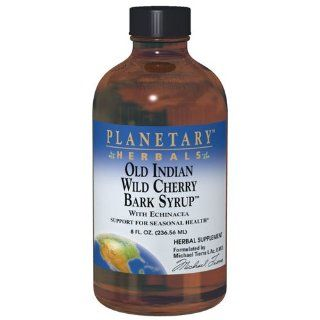 Planetary Formulas� Old Indian Wild Cherry Bark Syrup, 8 oz: Health & Personal Care