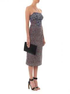 Multi dot print silk dress  Emilio De La Morena  MATCHESFASH