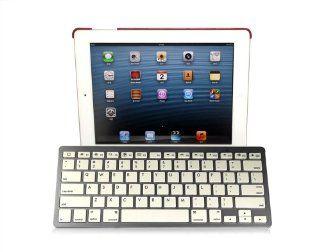 USTOP Ultra Slim Mini Bluetooth 3.0 Wireless Keyboard for iPad mini / iPad / Nexus 7 / Galaxy Tab and other Tablets   White Computers & Accessories