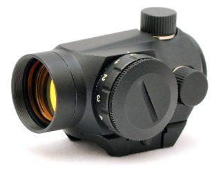 TMS Mini Micro Red Dot Reflex Sight Scope, Fits onto Weaver and Picatinny rails  Archery Sights  Sports & Outdoors