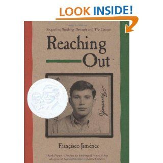 Reaching Out: Francisco Jimenez:  Kids' Books