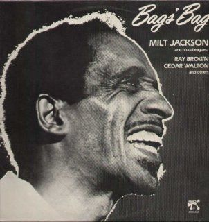 Bags' Bag: Milt Jackson & his colleagues; Ray Brown, Cedar Walton and others Pablo Records Stereo 2310 842: Music