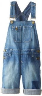True Religion Kids Girls 7 16 Gigi Short Overall: Clothing