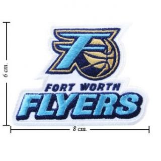 Fort Worth Flyers The Past Logo Embroidered Iron Patches: Clothing
